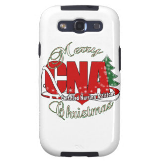CNA CHRISTMAS Certified Nursing Assistant Samsung Galaxy S3 Cover