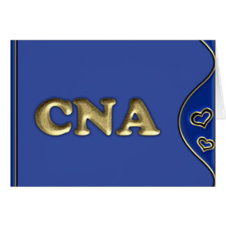 CNA GREETING CARD