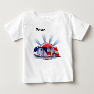 CNA IN THE USA - PATRIOTIC CERTIFIED NURSE AIDE BABY T-Shirt