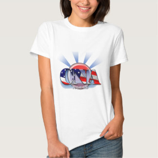 CNA IN THE USA - PATRIOTIC CERTIFIED NURSE AIDE SHIRTS