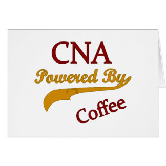 CNA Powered By Coffee Greeting Cards