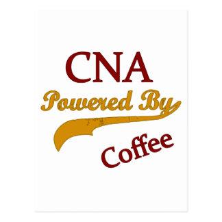 CNA Powered By Coffee Postcard