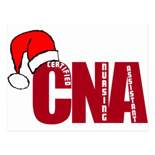 CNA SANTA - CERTIFIED NURSING ASSISTANT POST CARDS