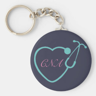 CNA Stethoscope Key Chain
