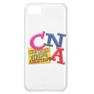 CNA WHIMSICAL LETTERS CERTIFIED NURSING ASSISTANT CASE FOR iPhone 5C