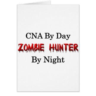 CNA/Zombie Hunter Greeting Card
