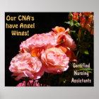 CNAs posters Certified Nursing Assistants Angels