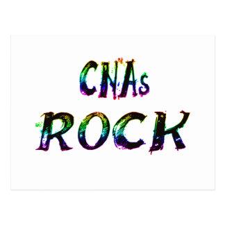CNAs ROCK COLOR Postcard