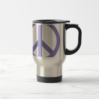CND Peace Sign Travel Mug