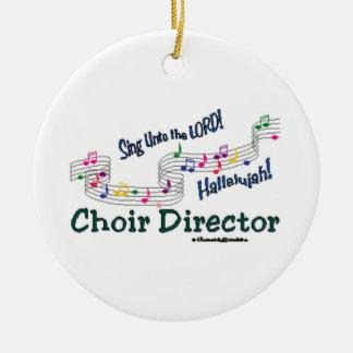 Cnotes Church Choir Director Christmas Ornament