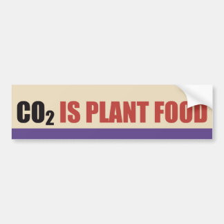 CO2 Is Plant Food Bumper Sticker