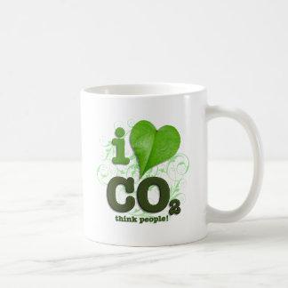 CO2 CLASSIC WHITE COFFEE MUG