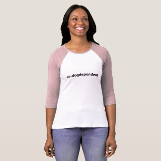co-dogdependent funny shirt for crazy dog moms