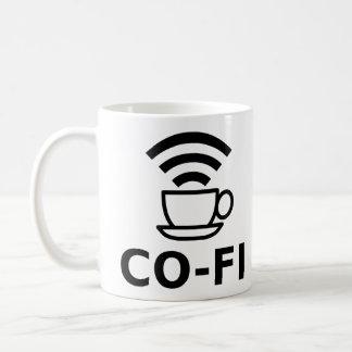 CO-FI BASIC WHITE MUG