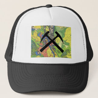 CO Geology Map Trucker Hat
