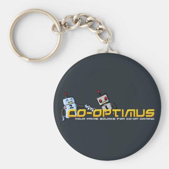 Co-Optimus Keychain (Blue)