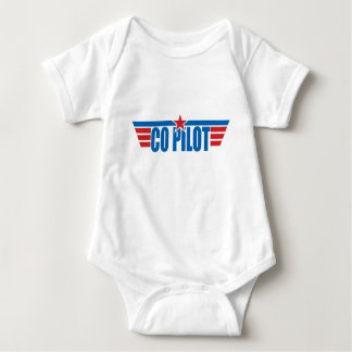 Co-Pilot Wings Badge - Aviation Baby Bodysuit