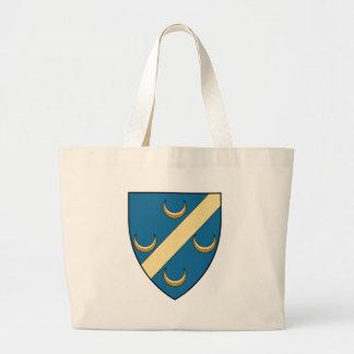 Coa_Algeria_Town_Hussein_Dey_(French_Algeria) Large Tote Bag
