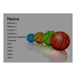 Coach Athletics Director Business Card