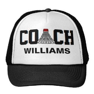 Coach -Badminton (Personalized) Trucker Hat