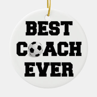 Coach Christmas Ornament Decor Soccer