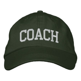 COACH EMBROIDERED CAP