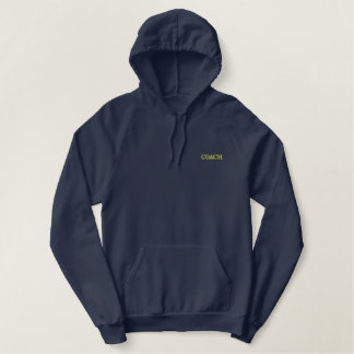 Coach Embroidered Hoodie