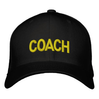 COACH Hat - Military letters Embroidered Cap