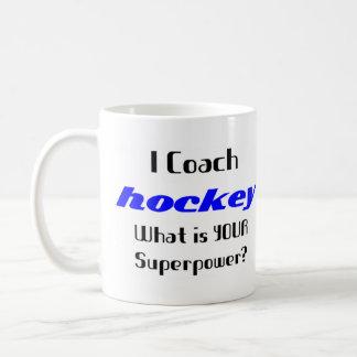 Coach hockey coffee mug