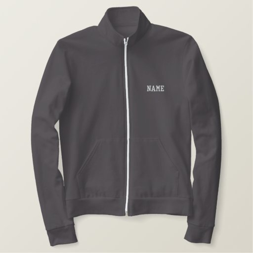 Coach jacket - personalise name on front