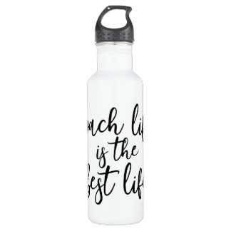 Coach Life is the Best Life Fitness 710 Ml Water Bottle