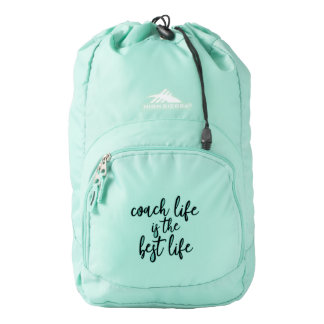 Coach Life is the Best Life Fitness Bag