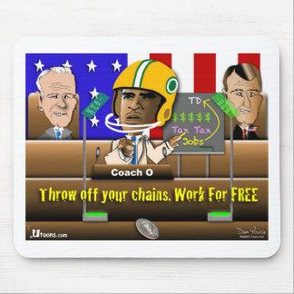 Coach Obama Mouse Pad