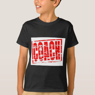 Coach red rubber stamp effect T-Shirt