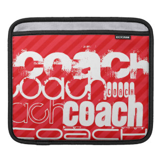 Coach; Scarlet Red Stripes iPad Sleeve