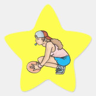 Coach Star Sticker
