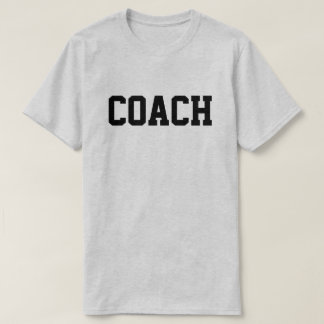 COACH T-SHIRT (FRONT and BACK)