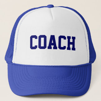 COACH Trucker Hat {Royal Blue}