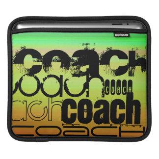 Coach; Vibrant Green, Orange, & Yellow iPad Sleeve