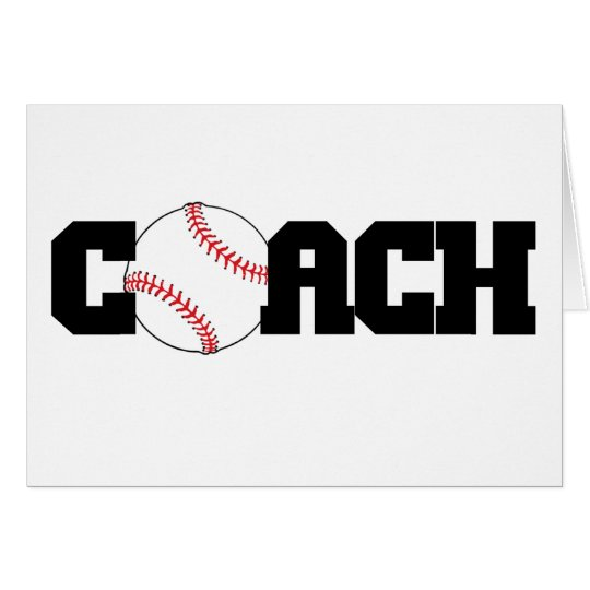 Coach with Baseball as the O Card