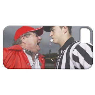 Coach Yelling at Referee iPhone 5 Covers