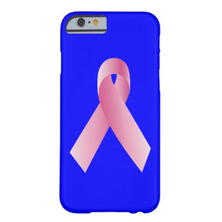Coaches for a cause_Pink Ribbon_blue Barely There iPhone 6 Case