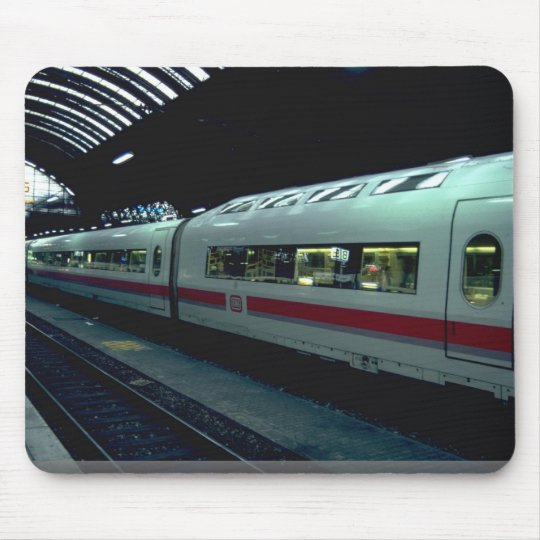 Coaches of inter-city express (I.C.E.), Germany Mouse Mat