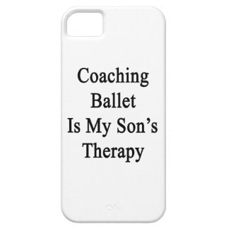 Coaching Ballet Is My Son s Therapy Cover For iPhone 5/5S