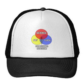 Coaching Soccer .. Science Art Luck Cap