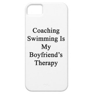 Coaching Swimming Is My Boyfriend's Therapy iPhone 5 Cover