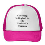 Coaching Volleyball Is My Husband's Therapy Hats