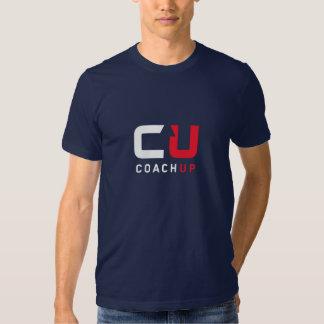 CoachUp Navy T-Shirt by American Apparel