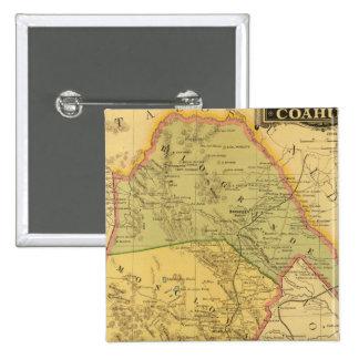 Coahuila 15 Cm Square Badge