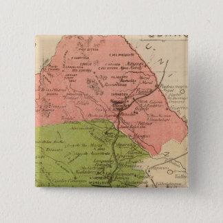 Coahuila, Mexico 15 Cm Square Badge